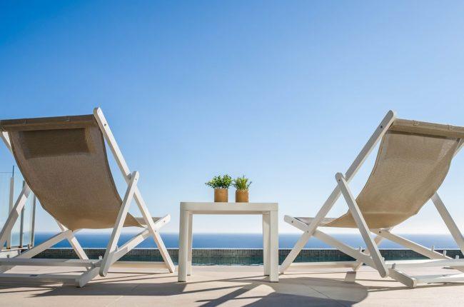 Cannes mini sunlounger