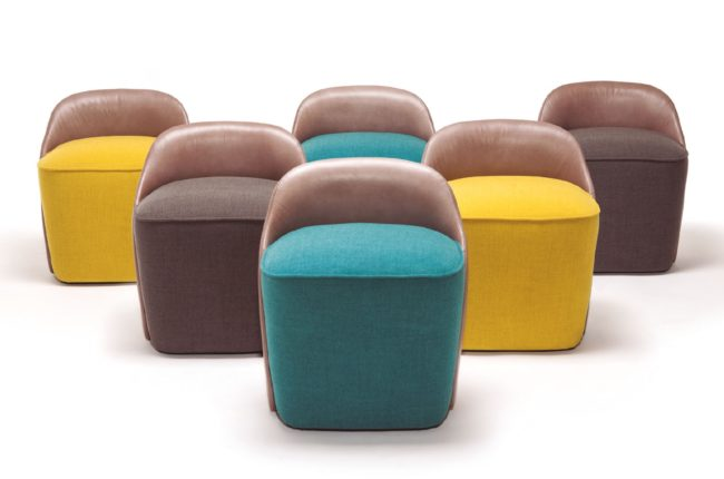 Vergés Lagranja Room & Small Room Pouf